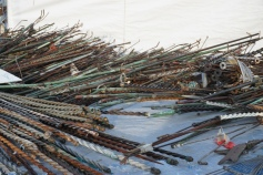 Lightening rods for reuse