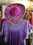 A fuchsia Mexican hat?