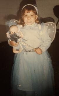 A Fairy Princess and her junior princess