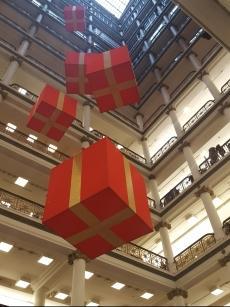 Light well from main floor